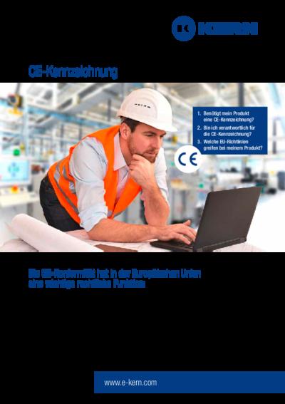 Infoblatt Technische Dokumentation – CE-Kennzeichnung