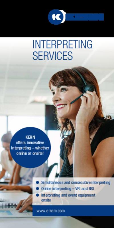Download Brochure Interpreting Services