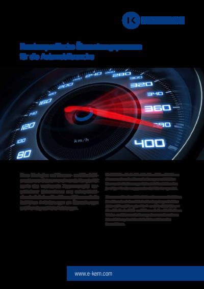 Infoblatt Automobilbranche