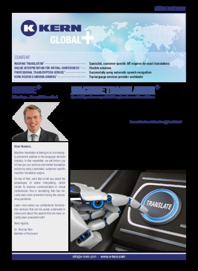 Download Newsletter Global+ 01/2021