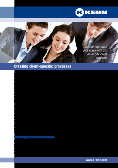 Establishing customer-specific translation processes