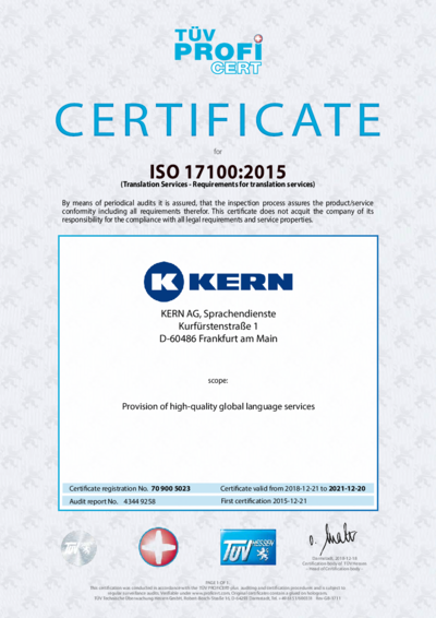 Download ISO 17100:2015