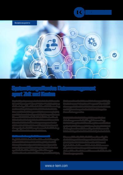 Download Infoblatt Technische Dokumentation – Redaktionssysteme