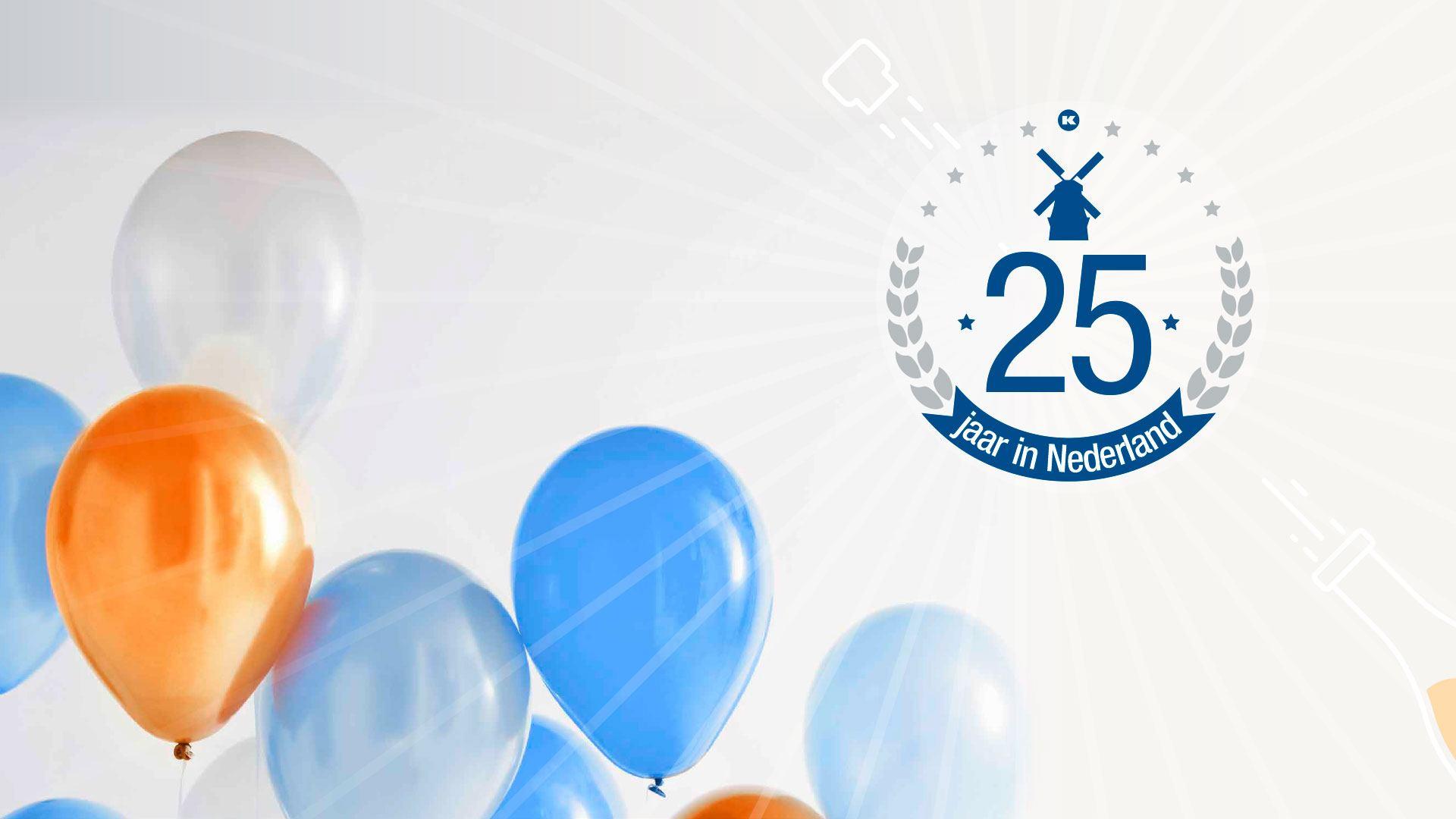 25 jaar in Nederland