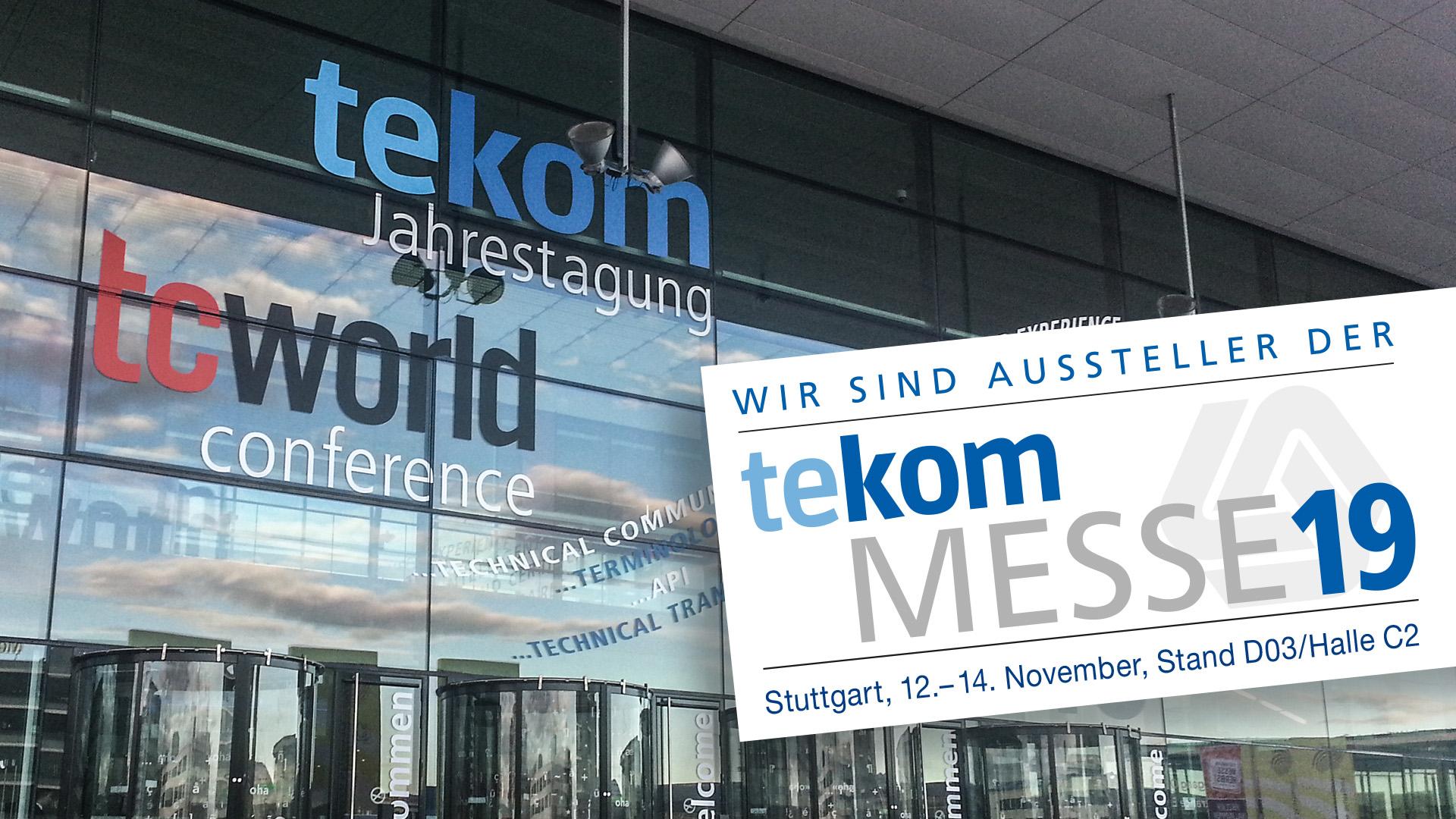 tekom-Jahrestagung 2019 in Stuttgart